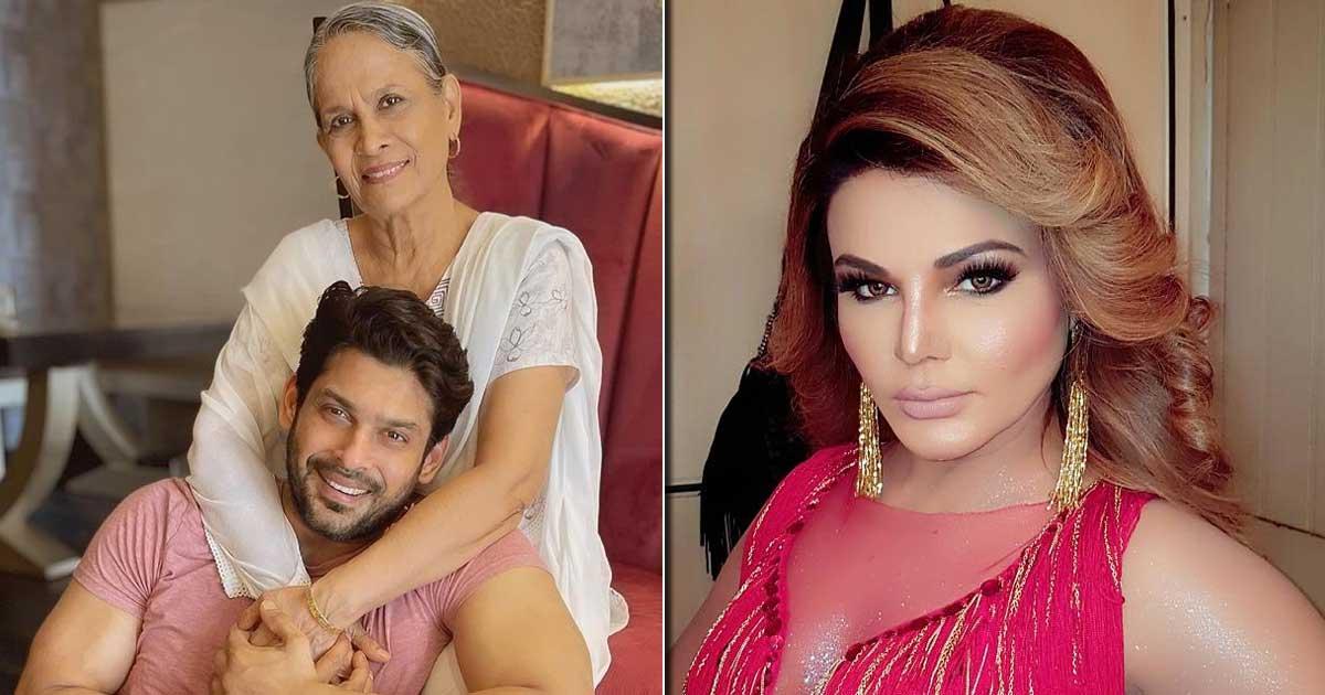"Rakhi Sawant Meets Sidharth Shukla's Mom; Says ""Aakho Mein Aasu Lekin Hosh Mein Nahi Hai"""