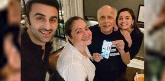 Ranbir celebrates Mahesh Bhatt's 73rd birthday with Alia, Pooja