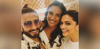 Ranveer, Deepika's selfie with PV Sindhu goes viral