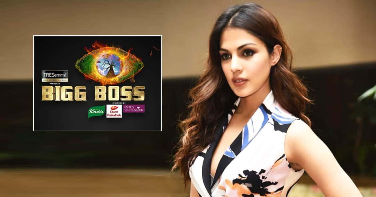 Rhea Chakraborty To Get 35 Lakhs/Week On Bigg Boss 15?