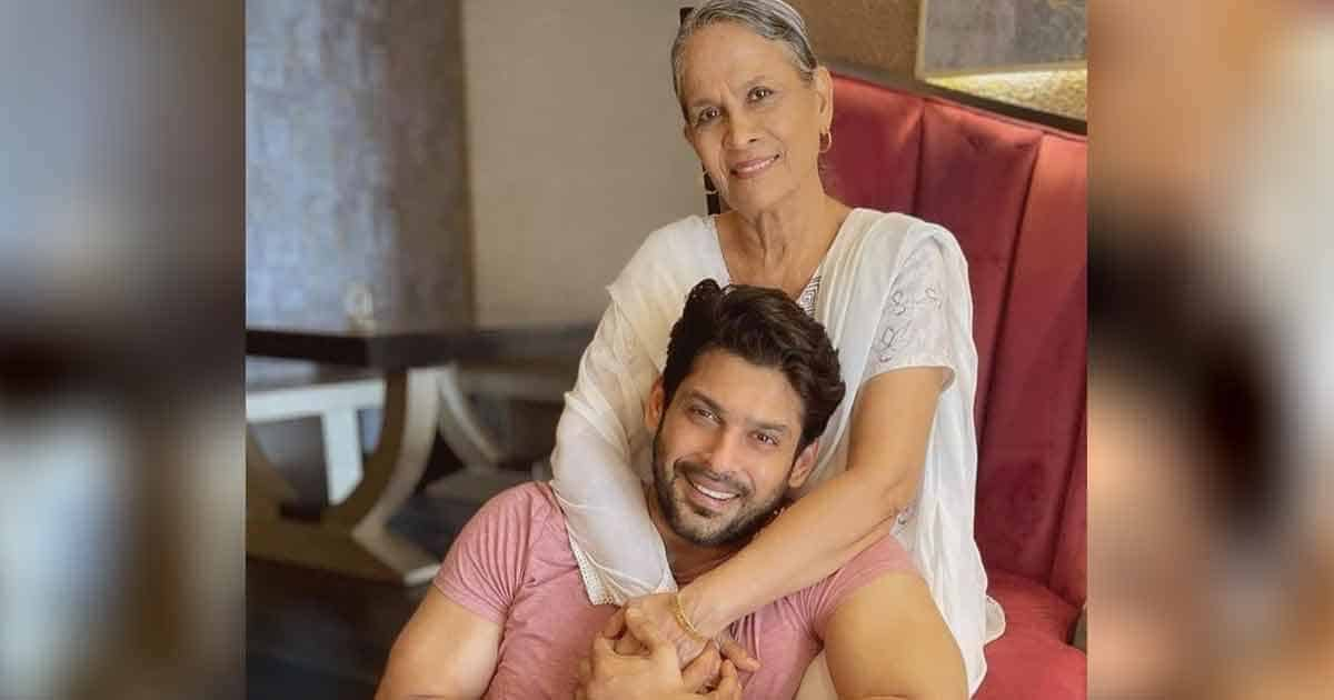 This Pics Of Late Sidharth Shukla With His Mother Will Get You All Emotional