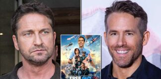 Ryan Reynolds Replies To Gerald Butler's Comments On Not Being Aware Of His New Film Free Guy