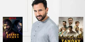 """Saif Ali Khan Chooses One Between Sacred Games & Tandav, Says """"[Guess] Was More Real Than The Other"""""""