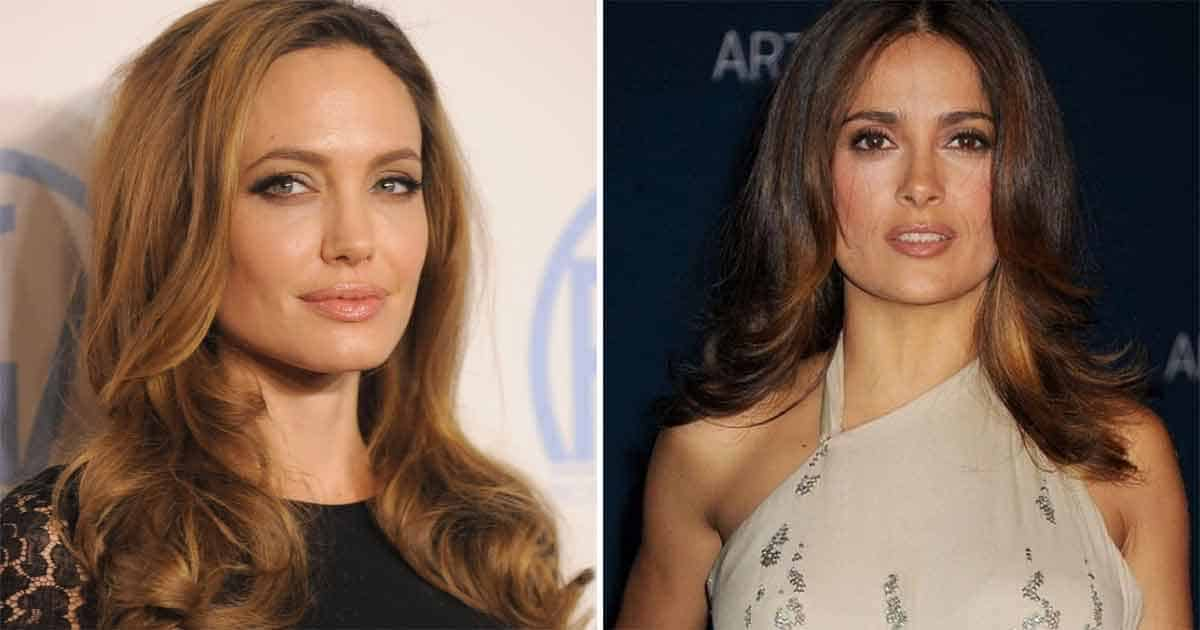 Angelina Jolie & Salma Hayek Are Coming To be Hollywood's Newest BFFs And Here's How We Know