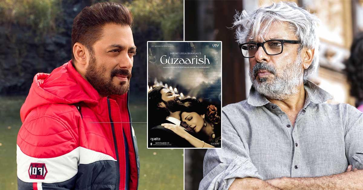 Salman Khan Once Made A Snarky Remark On Sanjay Leela Bhansali & His Film Guzaarish: