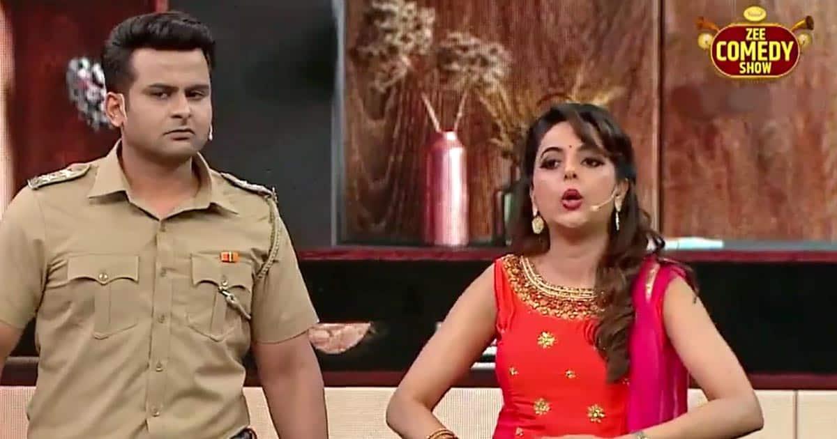 Sanket Bhosale Gets Puzzled As Wife Sugandha Mishra Goes Off-Script Talking About Having Babies, On The Zee Comedy Show