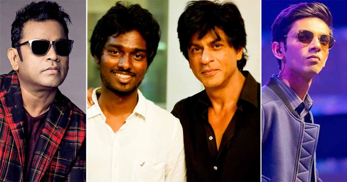 Shah Rukh Khan's Next With Atlee To Bring AR Rahman & Anirudh Ravichander's Duo Together To Create History?
