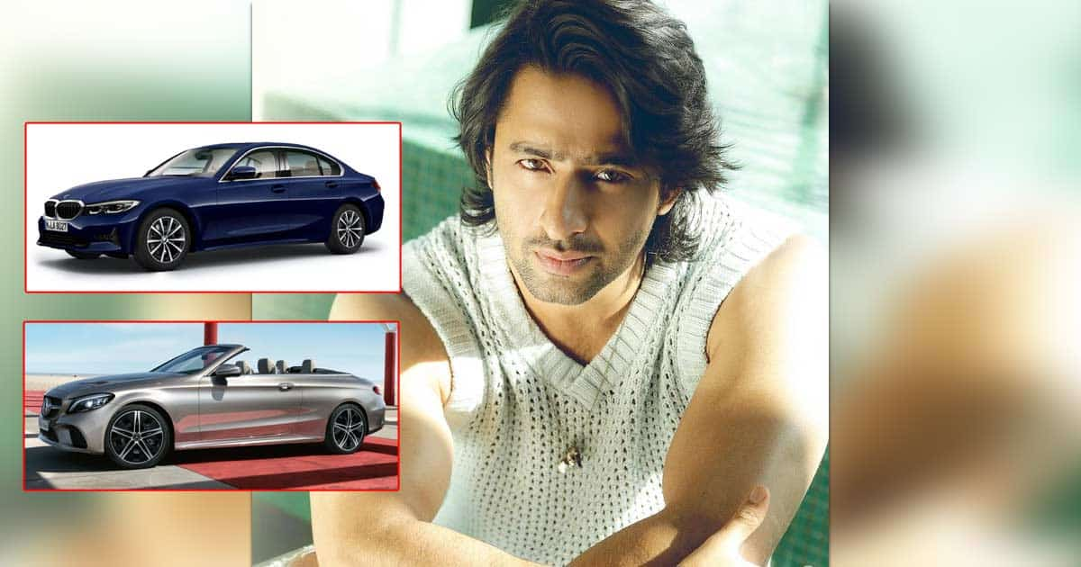 Shaheer Sheikh's Luxurious Car Collection Includes A 72 Lakh Worth Monster Mercedes To A Lavish BMW - Deets Inside
