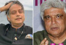 """Shashi Tharoor Sings 'Ek Ajabee Haseena Se' On Stage; Javed Akhtar Jokes, """"We've Almost A Similar Song In Hindi Too"""""""