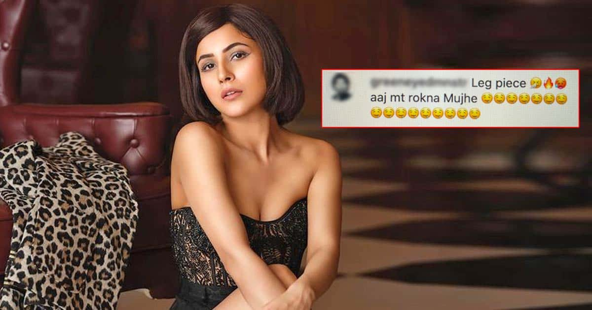 """Shehnaaz Gill Shares A Sultry Pic In A Black Corset Flaunting Her Toned Legs; A Netizen Comments, """"Aaj Mat Rokna Mujhe"""" - Deets Inside"""