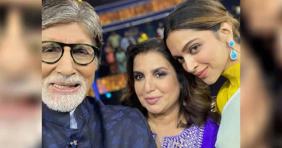 KBC 13: Deepika Paukone And Amitabh Bachchan Gets Into Hilarious Banter
