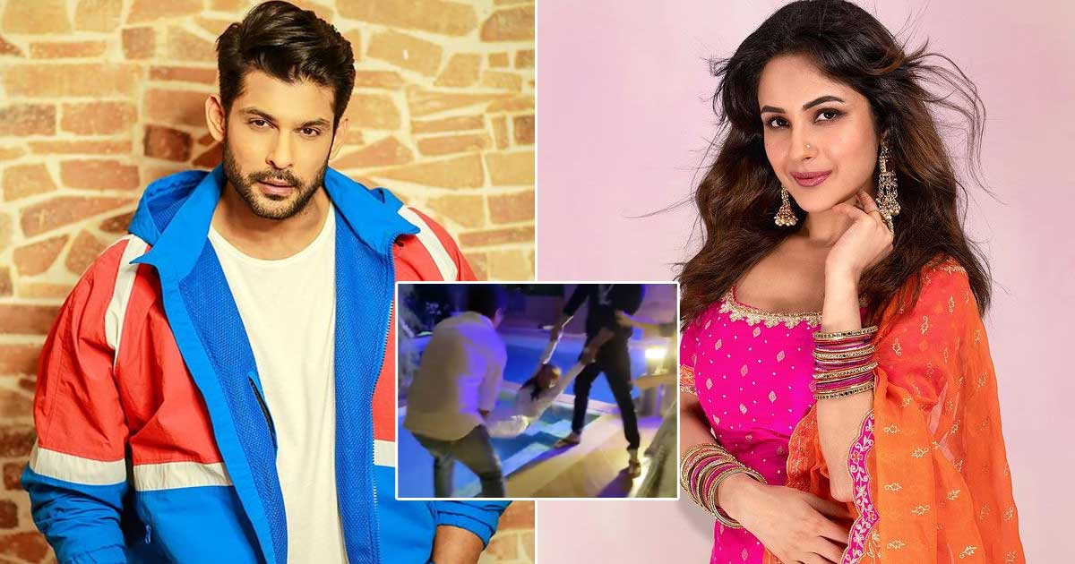 Sidharth Shukla Once Threw Shehnaaz Gill In A Swimming Pool On Her Birthday Skipping The Usual 'Bumps'