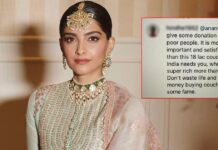 """Sonam Kapoor Poses On a Sofa Worth 18 Lakhs, A Netizen Writes, """"Don't Waste Life & Money Buying Couch & Some Fame,"""" Check Out"""