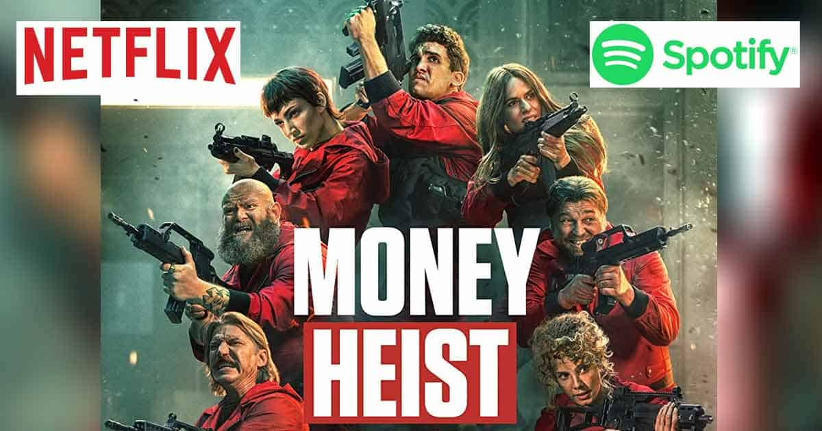 Spotify launches exclusive 'Money Heist' destination with Netflix