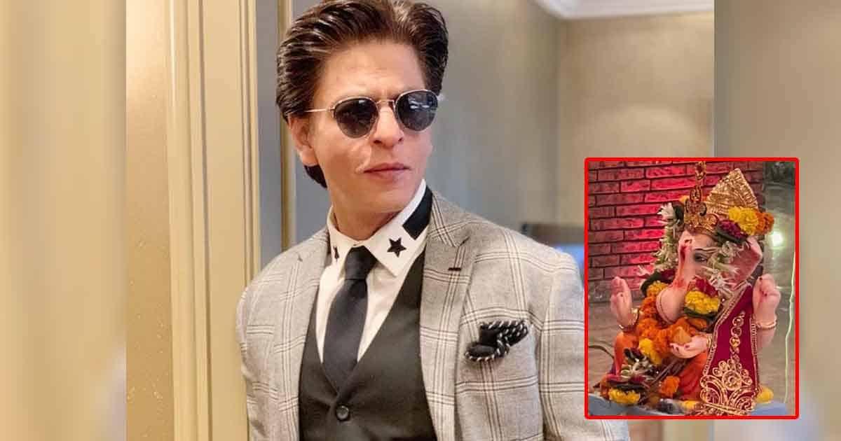 Shah Rukh Khan Bids Adieu To 'Ganpati Bappa' With A Sweet Message