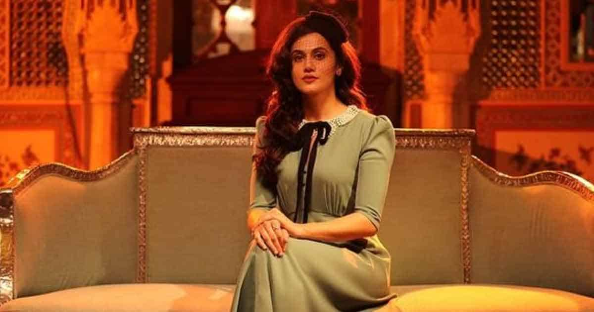 Taapsee Pannu Releases Short Film 'Vulnerable' On Standards Of Beauty