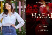 Tejasvi on playing a strong female character in 'Hasal'