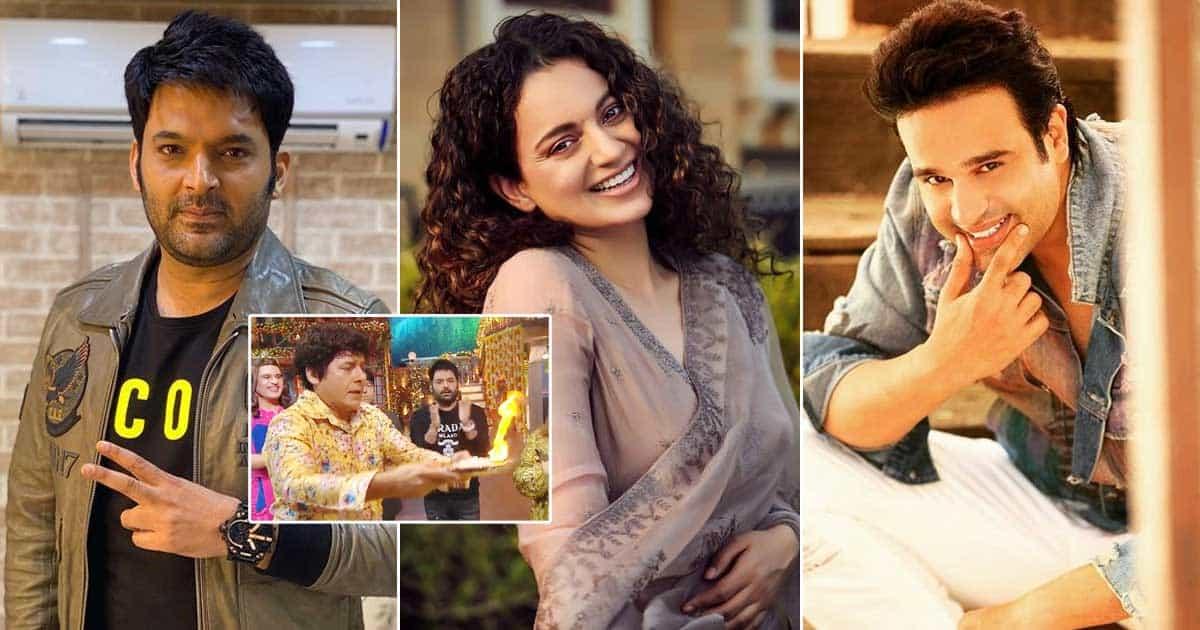 "The Kapil Sharma Show: Comedian Asks 'Thalaivii' Kangana Ranaut, ""Itne Din Ho Gaye, Koi Controversy Nahi Hui""; Actress Reacts"