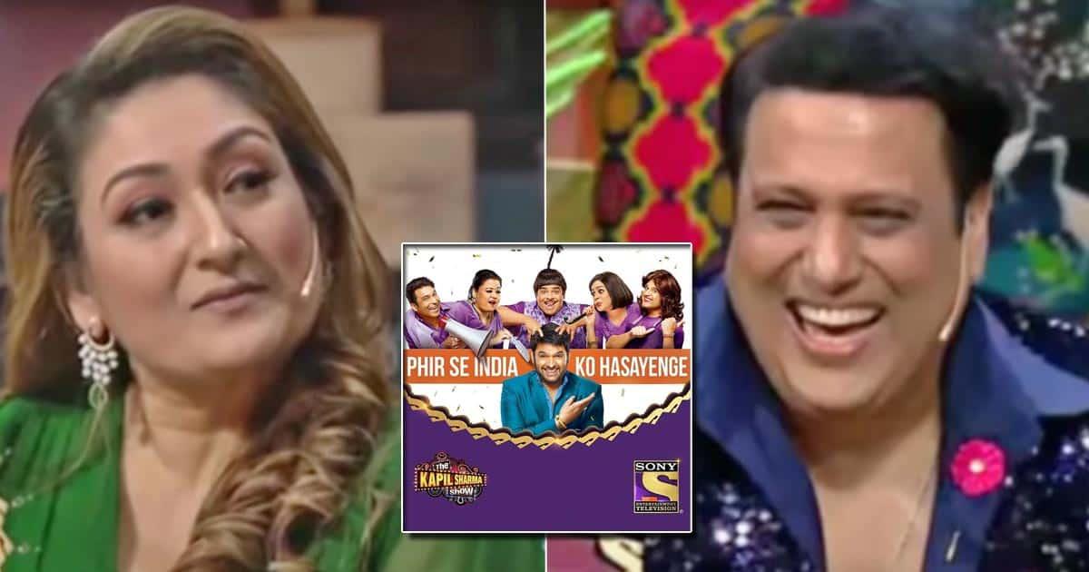 The Kapil Sharma Show: Govinda & Wife Sunita Ahuja Are Coming To The Show To Entertain Us - Watch
