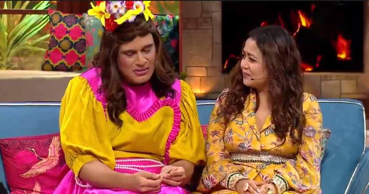 """The Kapil Sharma Show: Krushna Abhishek Takes A Dig At Indian Idol 12 Sob Stories; Tells Neha Kakkar, """"Aap Rona Nahi, Mai Contestant Nahi Hu"""" - Video Inside"""