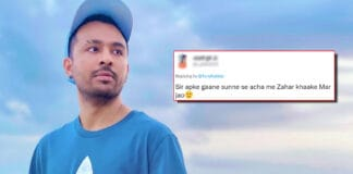 Tony Kakkar Gives A Savage Reply To A Troll Who Says He Would Rather Eat Poison Than Listening To His Songs, Check Out