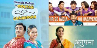 TRP Report: Fans Are Loving Taarak Mehta Ka Ooltah Chashmah & It Sticks To The No. 1 Spot