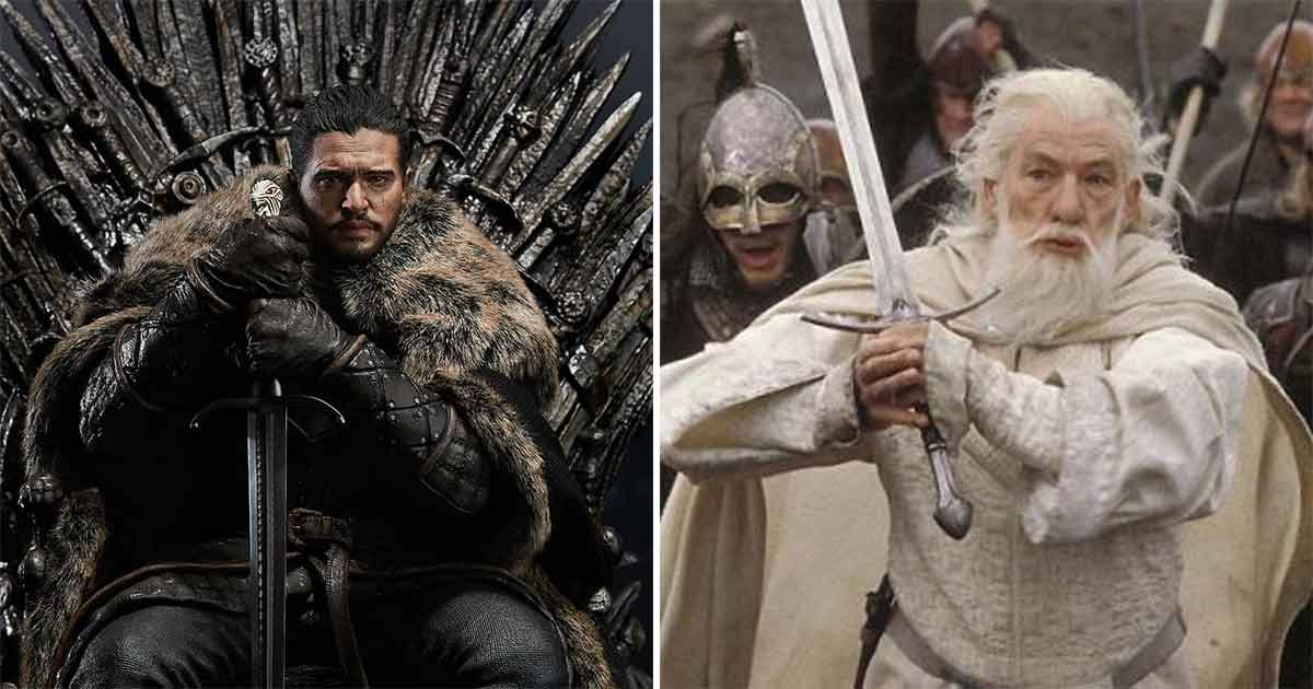 Game Of Thrones' Iconic Iron Throne Has A Harry Potter Easter Egg Forged With Gandalf's Glamdring & Robin Hood's Hilt?
