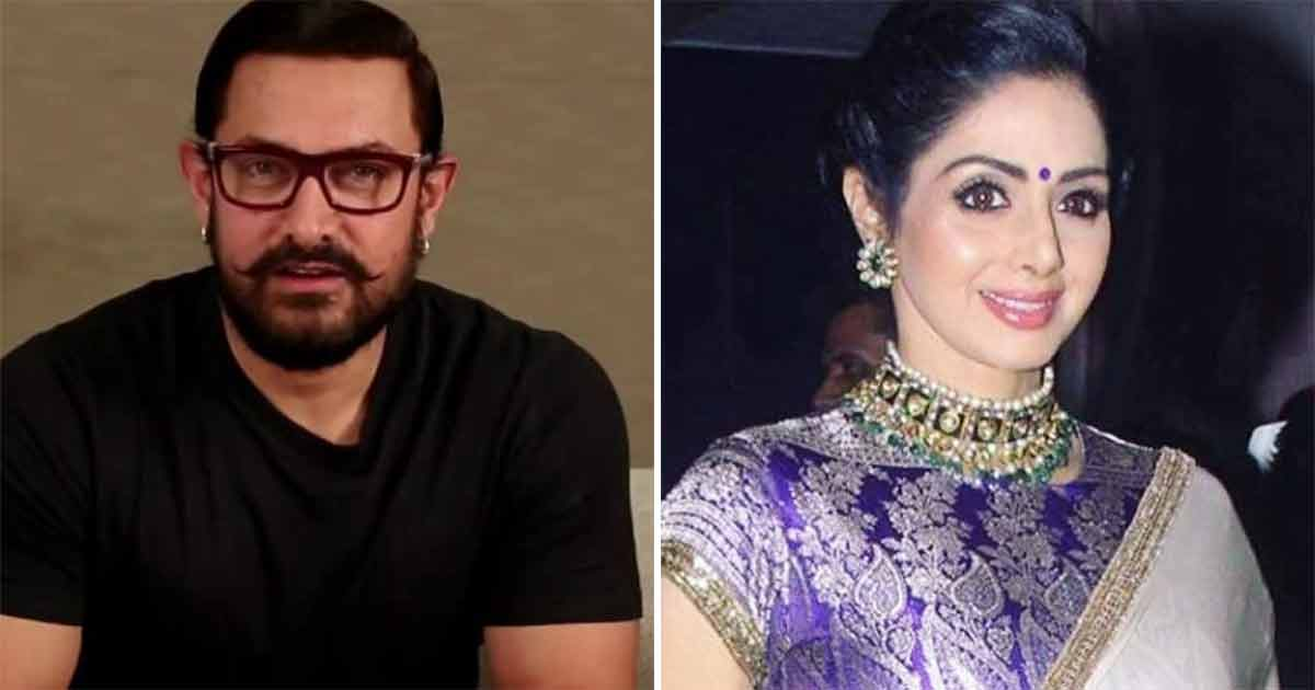 Did You Know? At The Start Of His Career Aamir Khan Said No To Working With Sridevi & Here's Why!