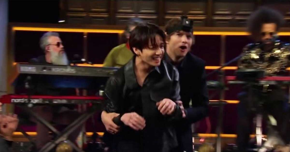 When BTS' Jungkook Proved To Be Smartest Of The Lot Deceiving Ashton Kutcher By Being A Cameraman In A 'Hide & Seek' Game