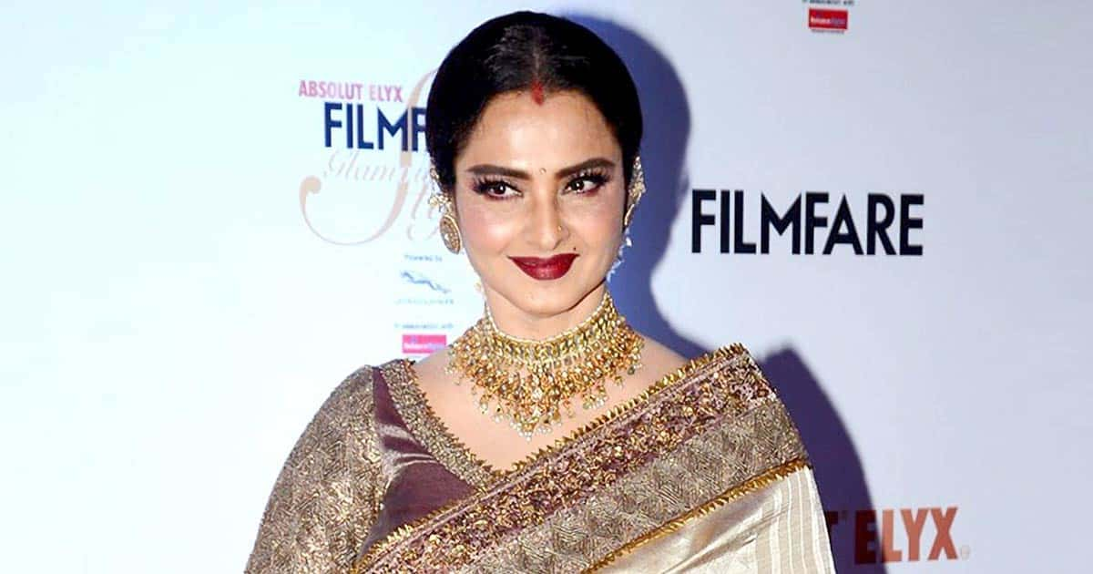 When Rekha Recalled Being Labelled As An 'Ugly Duckling' In Hindi Films Because Of Her 'Dark Complexion' & 'South Indian Features'