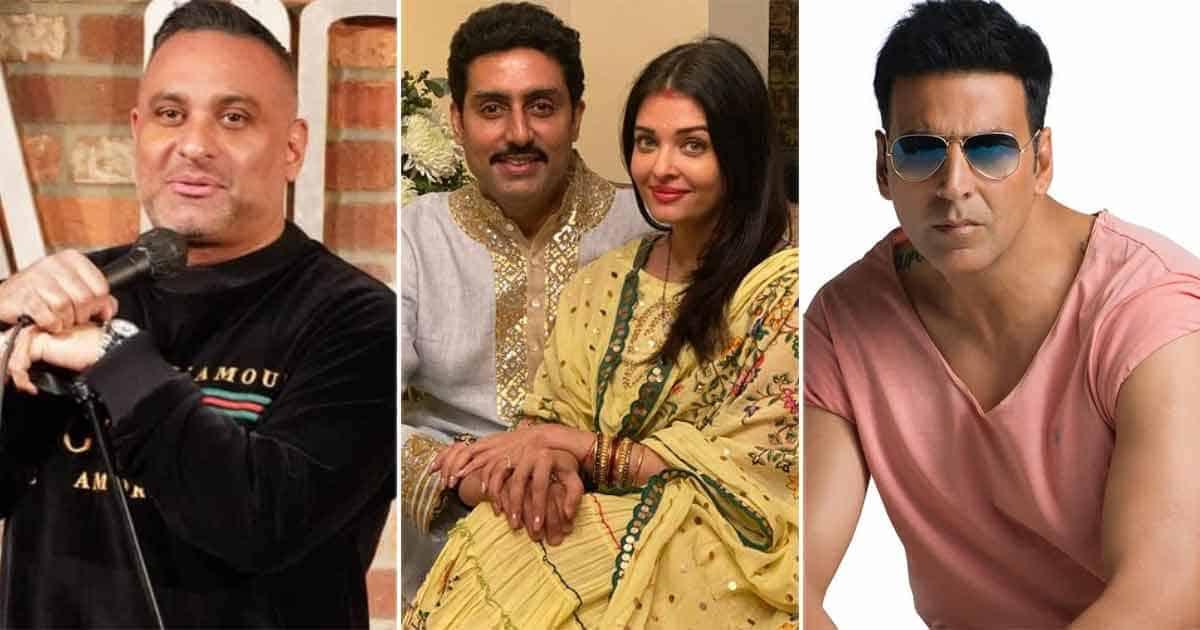 "When Comedian Russell Peters Said ""Good Job, Abhishek Bachchan, You Finally Knocked Aishwarya Rai Bachchan Up"" While Stating That She's A Bad Actor"