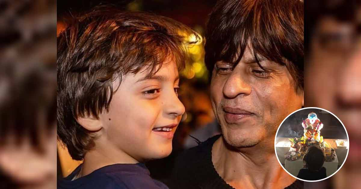 When Shah Rukh Khan's Son AbRam Praying To Lord Ganesha Created Controversy