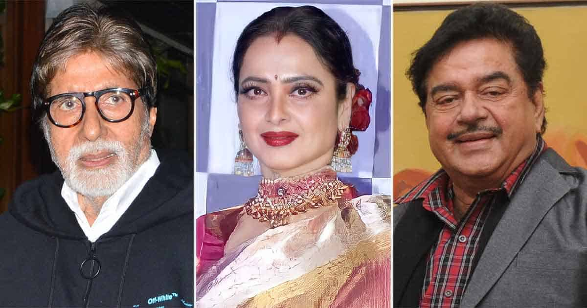 Today we bring you a throwback when Shatrughan blamed Rekha for his tiff with Amitabh Bachchan. Read on!