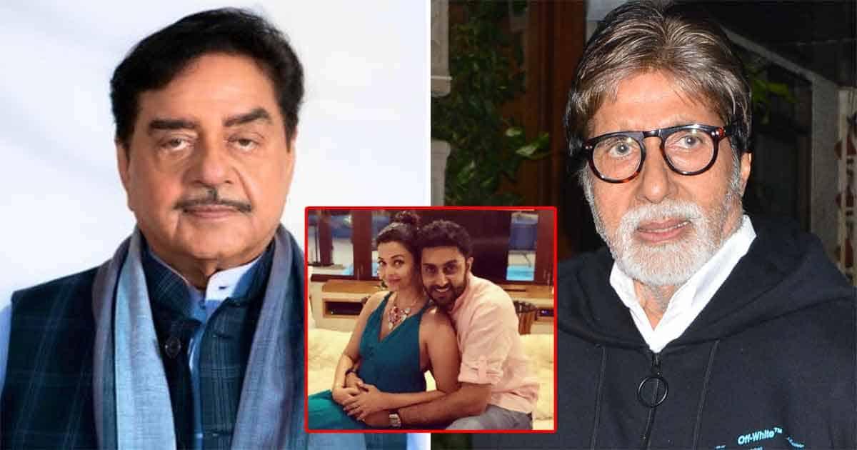 When Shatrughan Sinha Was Miffed At Amitabh Bachchan For Not Inviting To Abhishek & Aishwarya Rai Wedding: