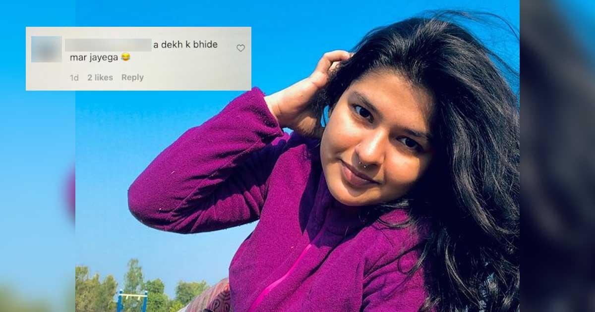 When Taarak Mehta Ka Ooltah Chashmah Fame Nidhi Bhanushali Posed In A Bikini & A Fan Commented