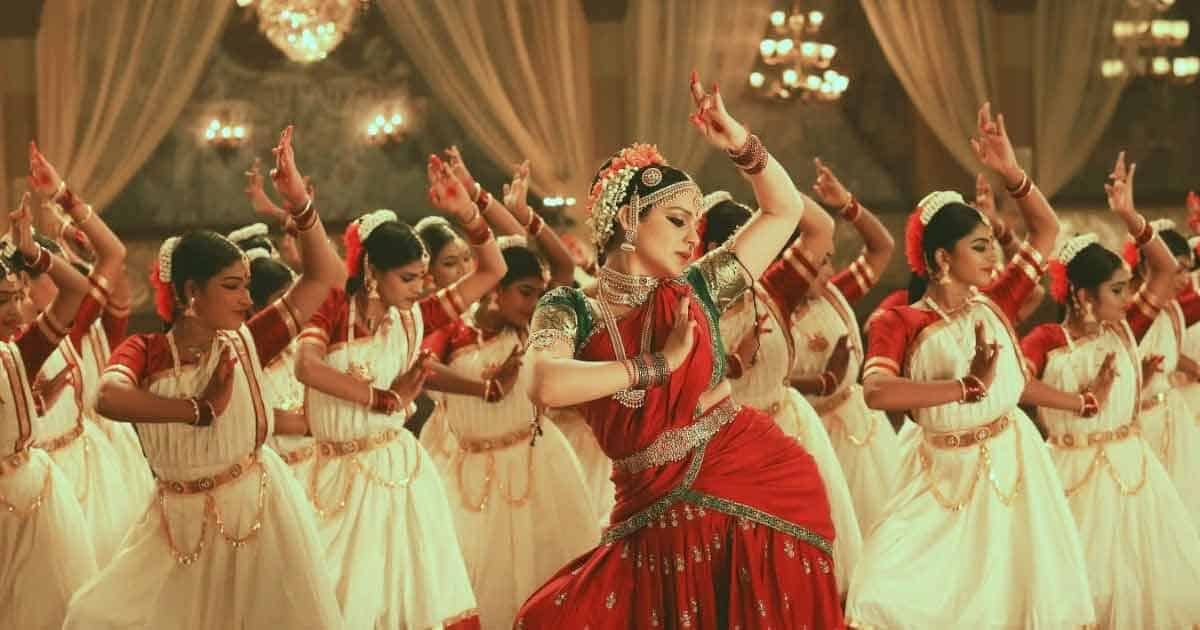 With 100 trained dancers, Thalaivii's 'Nain Bandhe Naino Se' showcases Kangana Ranaut's brilliant classical dancing skills, learnt over a month of rigorous training for the film