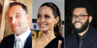 Angelina Jolie Sparks Reunion Rumours With Her Ex Jonny Lee Miller After Being Spotted On Dinner Date