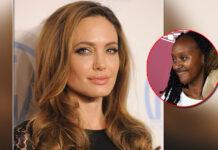Angelina Jolie's Daughter Zahara Wears Mumma's 2014 Oscar Dress Paying A Sweet Tribute - Pics Inside