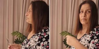 Archana Puran Singh Slaps Her Son Very Hard As He Records Her 'No Makeup' Look