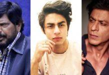 Minister Ramdas Athawale Advises Shah Rukh Khan To Send Son Aryan Khan To A De-Addiction Rehabilitation Centre