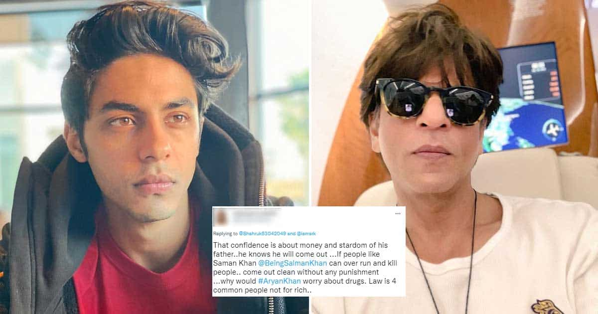 Aryan Khan Laughs In A Police Car & Netizens Witch Hunt Shah Rukh Khan Over It!