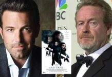 Ben Affleck excited by Ridley Scott's shooting style on 'The Last Duel'