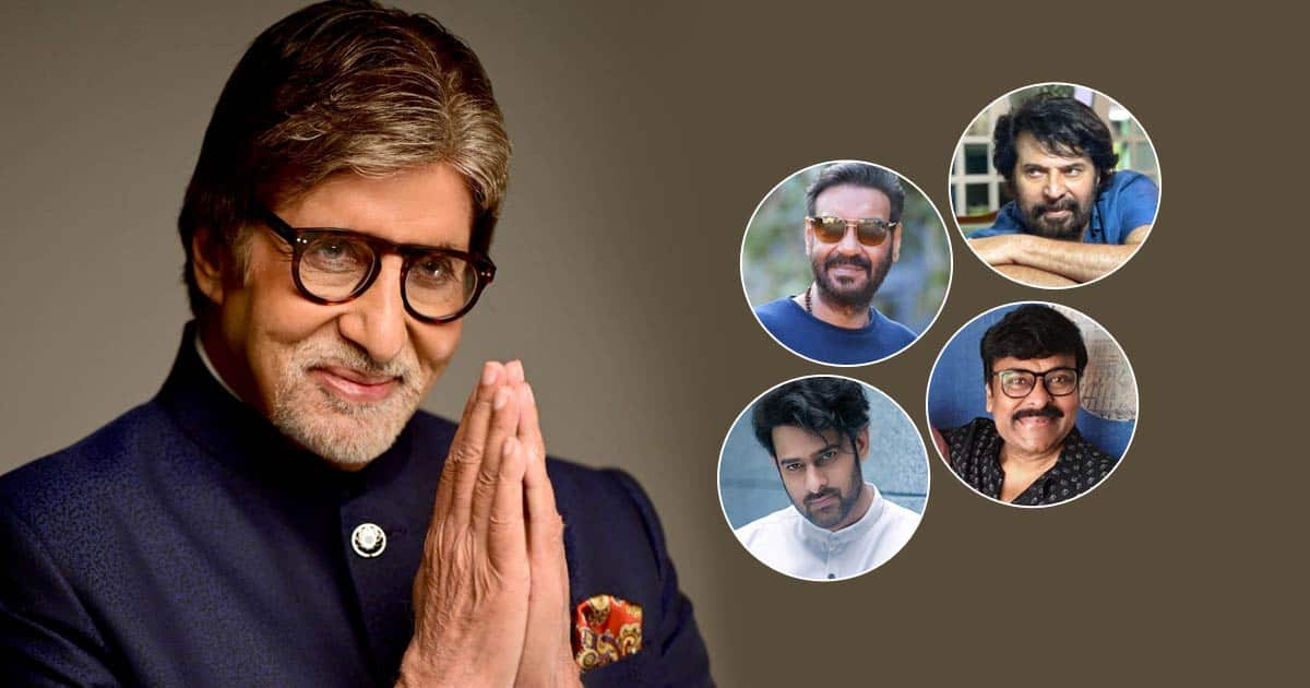 Amitabh Bachchan Turns 79! From Prabhas To Ajay Devgn, Celebs Pour In Birthday Wishes For The Legend