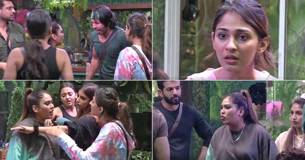 Bigg Boss 15: Afsana Khan & Vidhi Pandya's Brawl Over Luggage