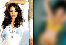 Birthday Girl Mallika Sherawat Shine Bright In A Yellow Bikini! Netizens Are Being Reminded Of Murder & Bheege Hoot Tere