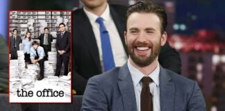 Chris Evans Shares His Favourite Moment From The Office As He Fanboys Over Jim & Pam