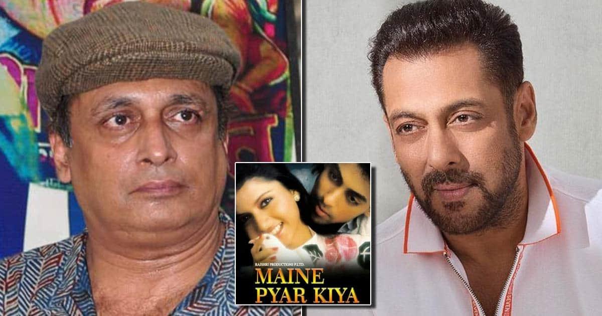 "Salman Khan Came In After Piyush Mishra Rejected 'Maine Pyar Kiya' & He Regrets Saying No, Adds ""Sooraj Barjatya Wanted To Launch Me"""