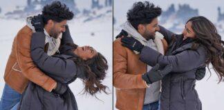 Director Aashish Panda had to break Guru Randhawa and Mrunal Thakur's snow fights on the sets of 'Aise Na Chhoro Mujhe'