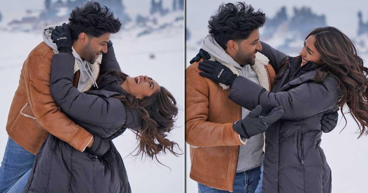 Director Aashish Panda Had To Break Guru Randhawa & Mrunal Thakur's Snow Fights On The Sets Of Aise Na Chhoro Mujhe