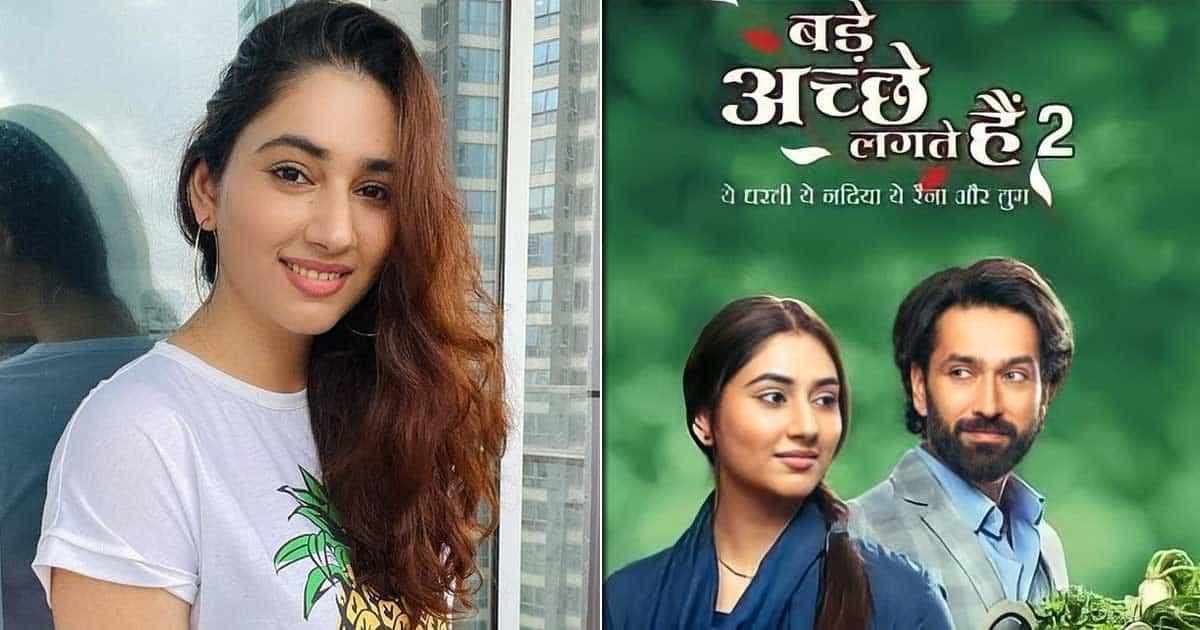"Disha Parmar On Her Bade Achhe Lagte Hain's Character: ""People On The Sets Say Disha Is Priya, Priya Is Disha"""
